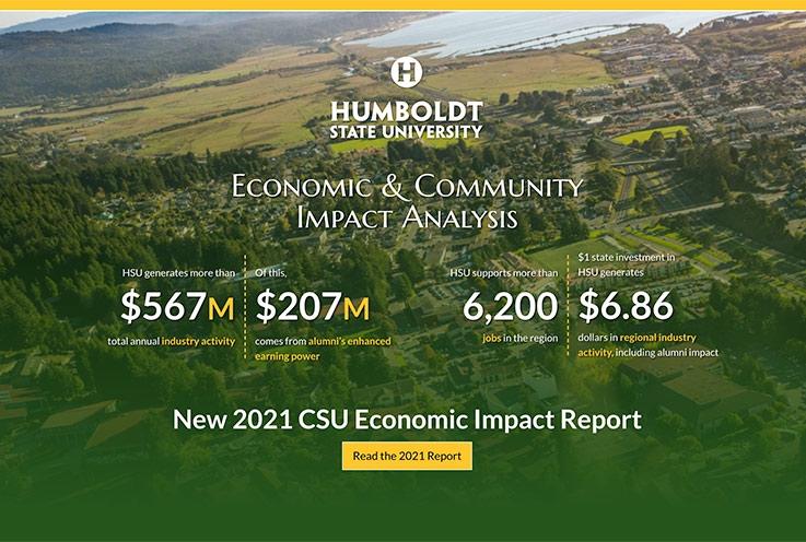Economic Impact website screenshot